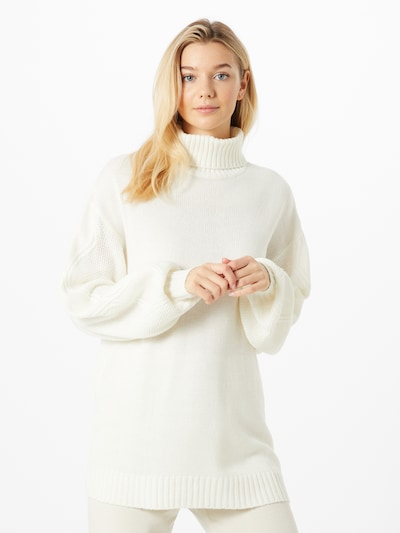 Megztinis iš Missguided , spalva - balkšva, Modelio vaizdas