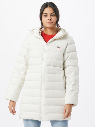 LEVI'S Winter coat in Night blue / Red / White, View model