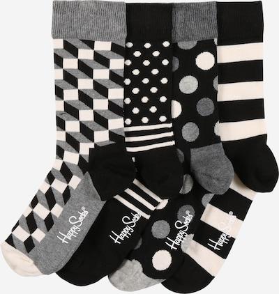 Happy Socks Socken in grau / schwarz / weiß, Produktansicht