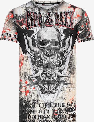 CIPO & BAXX T-Shirt in mischfarben, Produktansicht