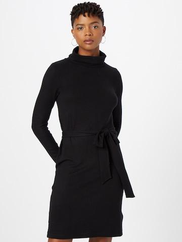 ABOUT YOU Gebreide jurk 'Nanni' in Zwart