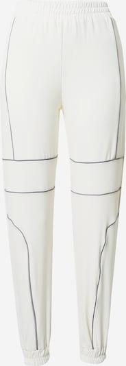 Tally Weijl Pantalon en gris / blanc naturel, Vue avec produit