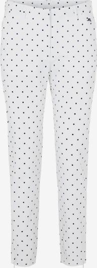 J.Lindeberg Golfhose 'Dana' in schwarz / weiß, Produktansicht