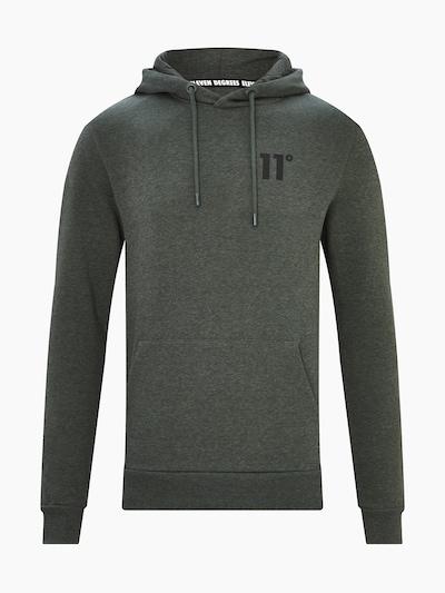 11 Degrees Sweat-shirt 'CORE' en kaki / noir, Vue avec produit