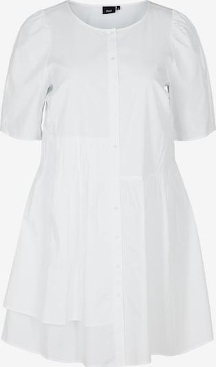 Zizzi Košeľové šaty 'Ehelena' - biela, Produkt