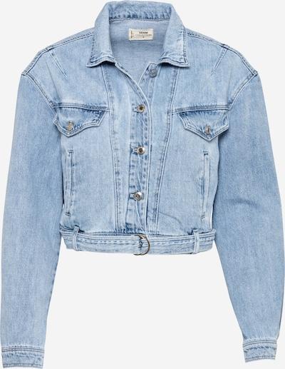 Tally Weijl Prehodna jakna 'WOVEN' | moder denim barva, Prikaz izdelka