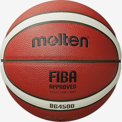 molten Basketball in dunkelorange / weiß, Produktansicht