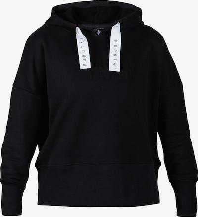 MOROTAI Sportief sweatshirt 'Naka' in de kleur Zwart / Wit, Productweergave
