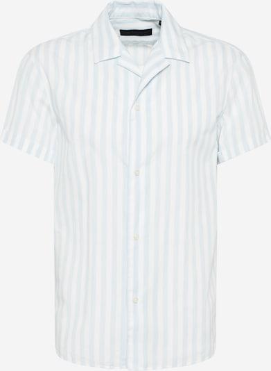 DRYKORN Риза 'BIJAN' в лазурно синьо / бяло, Преглед на продукта