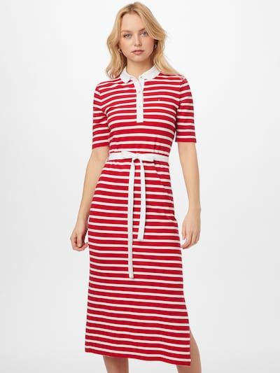 TOMMY HILFIGER Šaty - červená / bílá, Model/ka