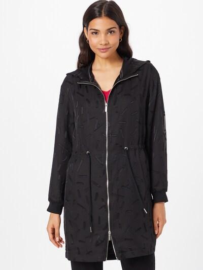 ARMANI EXCHANGE Преходно палто в черно, Преглед на модела