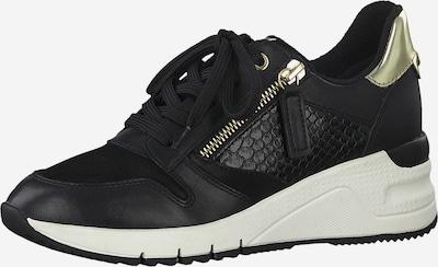 TAMARIS Sneaker in schwarz: Frontalansicht