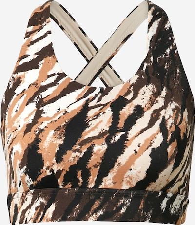 Sportinė liemenėlė iš Casall , spalva - smėlio / juoda / balta, Prekių apžvalga