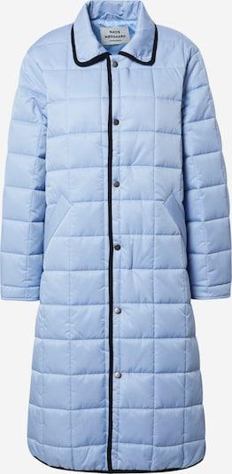 Demisezoninis paltas 'Celestine' iš MADS NORGAARD COPENHAGEN , spalva - šviesiai mėlyna / juoda, Prekių apžvalga