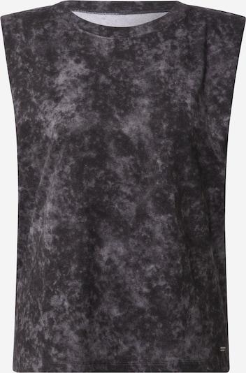 HOLLISTER Top in schwarzmeliert, Produktansicht