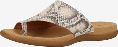 GABOR Sandalen in beige / schwarz, Produktansicht