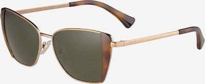 RALPH LAUREN Sunčane naočale 'RA4133' u konjak / zlatna / zelena, Pregled proizvoda