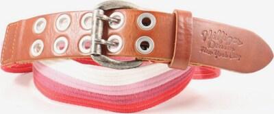TOMMY HILFIGER Stoffgürtel in XS-XL in braun / pink / weiß, Produktansicht