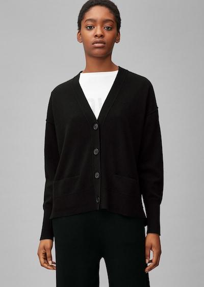Marc O'Polo Cardigan in schwarz, Modelansicht