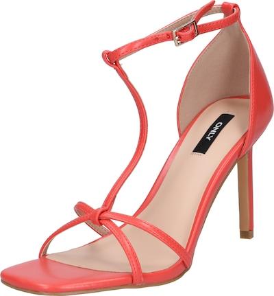 ONLY sandalen met riem alyx 5 in koraal