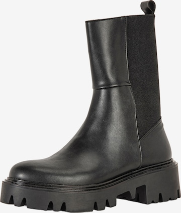 INUOVO Chelsea Boots in Schwarz