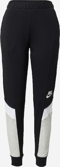 Nike Sportswear Hose in graumeliert / schwarz / weiß, Produktansicht