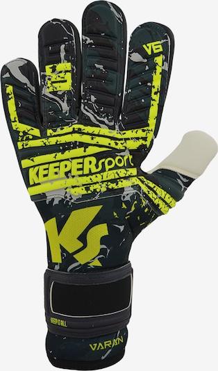 KEEPERsport Torwarthandschuh in schwarz, Produktansicht
