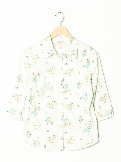 LAURA ASHLEY Blumenbluse in S-M in weiß, Produktansicht