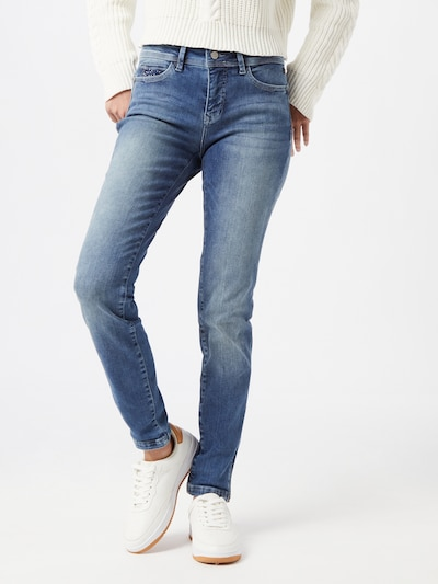 FREEMAN T. PORTER Jeans 'Alya' in blue denim, Modelansicht