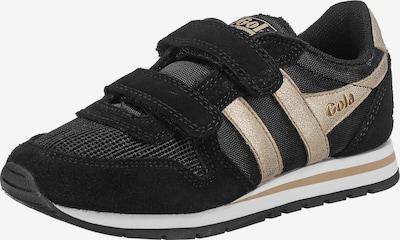 Gola Sneaker in gold / schwarz, Produktansicht