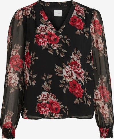 VILA Blouse 'Amione' in Green / Pink / Red / Black / White, Item view
