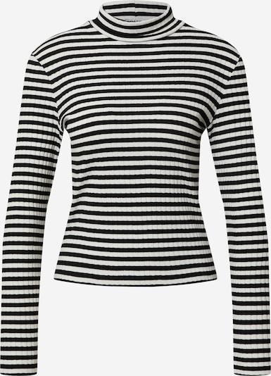 EDITED Shirt 'Lindie' in schwarz / weiß, Produktansicht