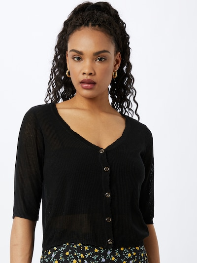 VILA Knit cardigan 'WOLA' in Black, View model
