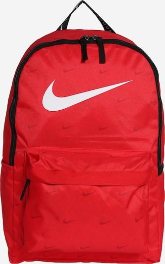 NIKE Sportski ruksak u crvena / crna / bijela, Pregled proizvoda