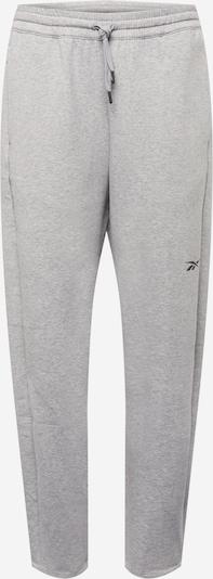 Reebok Sport Pantalon de sport en gris chiné, Vue avec produit