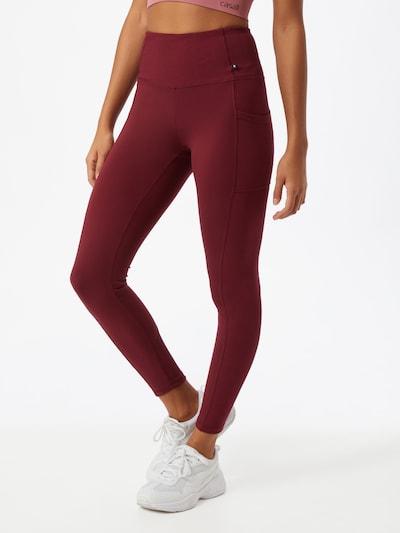 Sportinės kelnės 'IVANNA' iš Marika , spalva - kraujo spalva, Modelio vaizdas