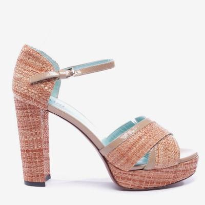 POLLINI Sandaletten in 39,5 in braun, Produktansicht