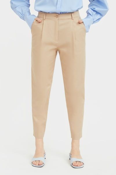 Finn Flare Stoffhose in beige, Modelansicht