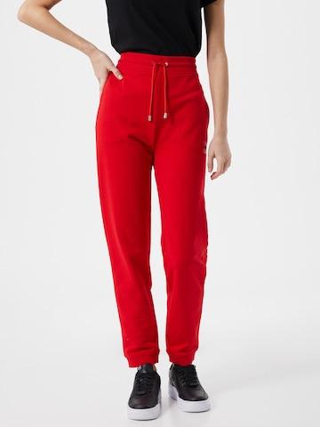 HUGO Püksid 'Dachibi', värv punane