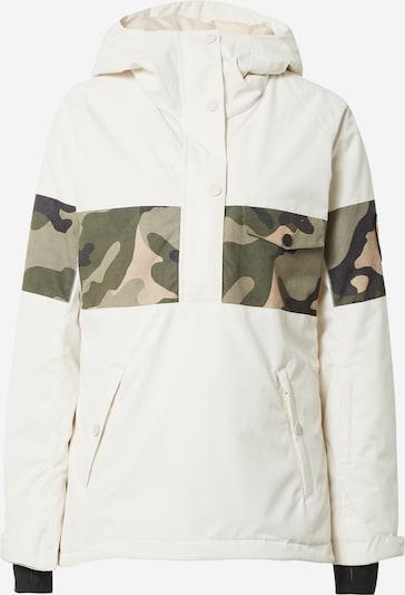 BILLABONG Outdoor jakna 'DAY BREAK' u antracit siva / kaki / travnato zelena / bijela, Pregled proizvoda