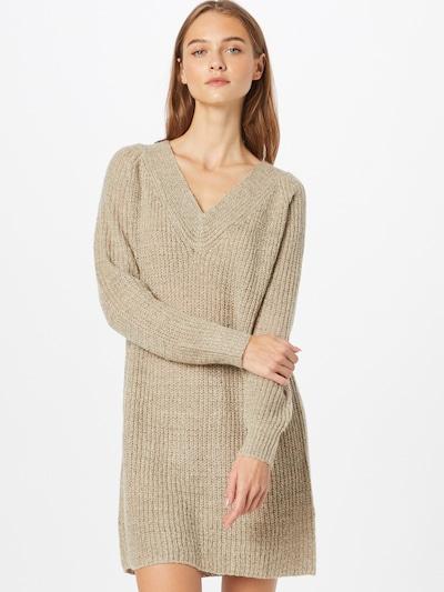 JDY Kleid 'WENDY' in de kleur Taupe, Modelweergave