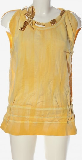Miss Sixty ärmellose Bluse in M in hellorange, Produktansicht