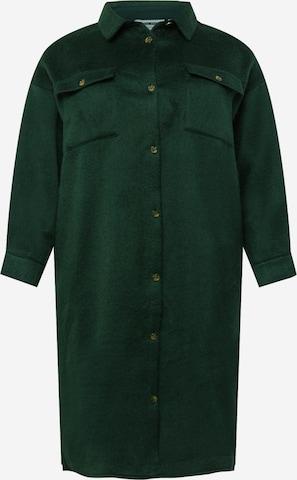 Noisy May Curve Between-Seasons Coat in Green