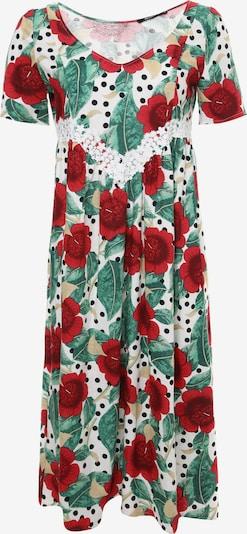 Madam-T Sommerkleid Kleid Air in mischfarben / weiß, Produktansicht