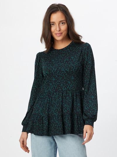 NEW LOOK Bluse in grün / schwarz, Modelansicht