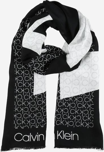 Calvin Klein Šál - čierna / biela, Produkt