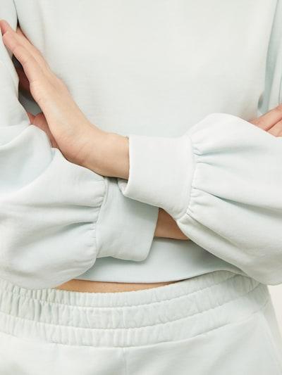 Aligne Sweat-shirt 'Babushka' en azur, Vue avec produit