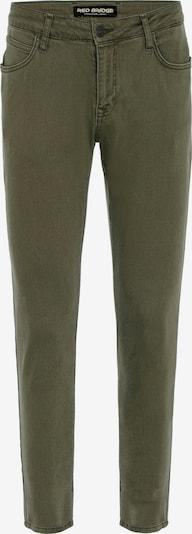 Redbridge Jeanshose 'Saitama Colored' in khaki, Produktansicht