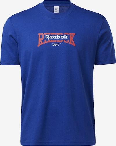 Reebok Classics Tričko - kráľovská modrá / hrdzavo červená / biela, Produkt