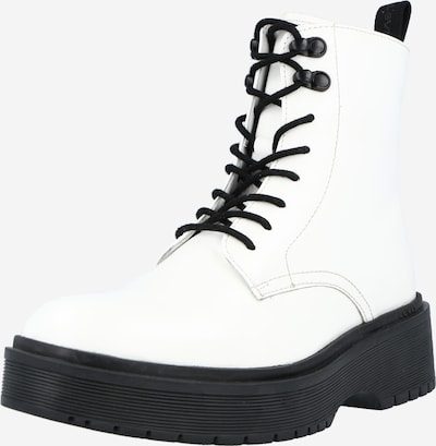 LEVI'S Lace-Up Ankle Boots 'Bria' in White, Item view